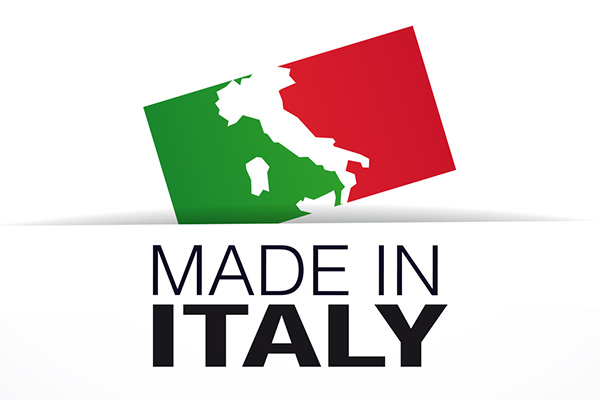 Proudly made in Italy